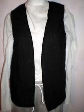 New Handmade Renaissance/Pirate Boy's Vest Size 2 Toddler Various Colors