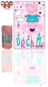 Peppa Pig Blanket Soft Touch Polar Fleece Blanket, Official Licenced (150cm )