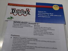 DIGITRAX SDH166D SOUNDFX HO 2 SELECTABLE STEAM & DIESEL SOUND BIGDISCOUNTTRAINS