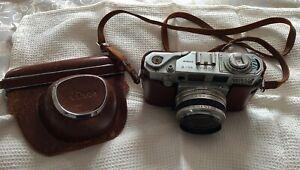 Rare AIRES 35-V 35mm Rangefinder Camera 1:1.8 1=4.5cm