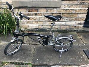 Brompton Folding Bike - Black - Great Condition.