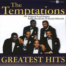 The Temptations Greatest Hits -New & Sealed-Fast Ship! CD/FRANK-156