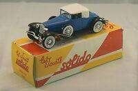 CORD L29 1929 collection Solido Hachette en boite