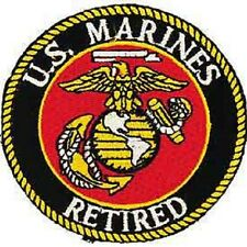 U.S. MARINES - RETIRED PATCH - NEW - MUST SEE