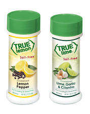 True Lime & True Lemon Salt Free Seasoning  2 x Shaker