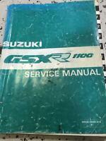 1990 1991 Suzuki GSXR1100 Service Shop Repair Workshop Manual OEM