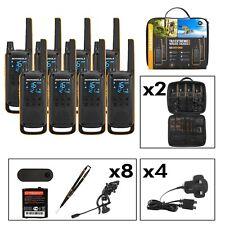Motorola Talkabout T82 PMR446 2-Way Radio (Eight Pack) - Free P&P Ireland & UK!