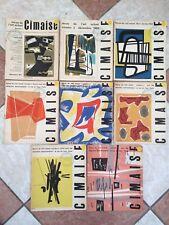 Cimaise Revue Tête de série 40 premiers numéros 1953-1959 Abstract art LOT RARE