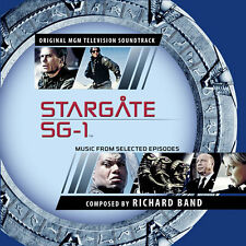 Stargate SG-1 - 2 x CD Complete Series Score - Limited Edition - Richard Band