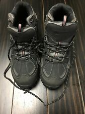 Men's Rugged Outback Man Made Black/Gray Boots Size 10