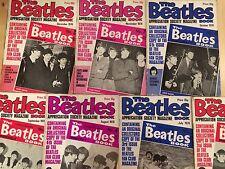 7 x The Beatles Book Appreciation Society Magazine 1976