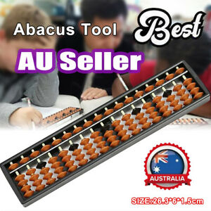 17 Digit Rods Standard Abacus Soroban Chinese Japanese Calculator Counting #T