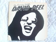 AN EVENING WITH DAVID PEEL LP LIVE IN CONCERT NYC 1975 BRING BACK THE BEATLES