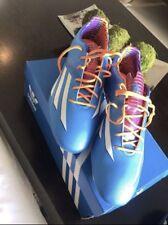 Adidas F30 TRX FG Mens Soccer Cleats (V24847)-Blue/White Size 11