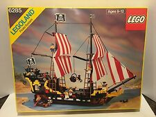 LEGO PIRATES 6285 BLACK SEAS BARRACUDA W/Minifigs Original Manual & Box Included