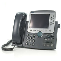 Cisco 7970 CP-7970G 8-Line IP VoIP Color Display Touch Screen Office Phone NO AC