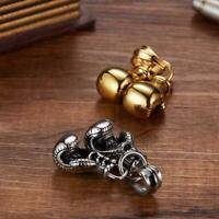 New Jewelry 3D Boxing Glove Charm Stainless Steel Pendant Necklace Hot Nice E2S8