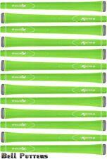 Thirteen (13) Karma Neion II Standard Green Golf Grips-Mens/Men's Grip-48 grams