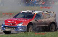 Carlos Sainz Citroen Xsara WRC Gales Rally GB 2004 fotografía 2