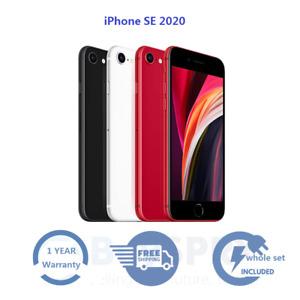 Original Refurbished Apple iPhone SE 2nd Gen (2020) 64GB 128GB Smartphone 🍎