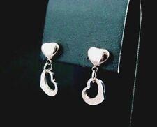 2er set 316l acero inoxidable pendientes Flamingo Rosegold plata oro negro mujer
