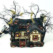 Department 56 Halloween Series Deep Woods Haunt Lighted House #805675