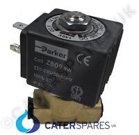 """PARKER 1/4"""" BRASS WATER SOLENOID VALVE USED ON VARIOUS COFFEE MACHINE GAGGIA"""