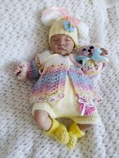 More details for beautiful hand knitted  set for newborn baby 19/