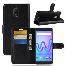 Wiko Jerry 3 Coque de protection Housse Pochette Wallet Case Noir