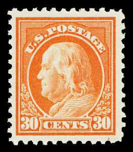 Scott 516 1917 30c Franklin Perforated 11 Issue Mint VF OG NH Cat $70