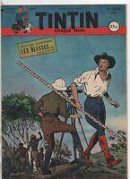 TINTIN n°142 -  12 JUILLET 1952. Bel état