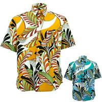 Regular Fit Short Sleeve Shirt Loud Originals Floral Abstract Tropical Print