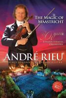Andre Rieu E Johann Strauss Orchestra The Magic Of Maastricht DVD Nuovo/Sealed