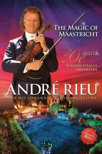 ANDRE RIEU and JOHANN STRAUSS ORCHESTRA The Magic Of Maastricht DVD NEW/SEALED