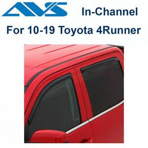 AVS Rain Guards 194242 4Pc Window Vent Visor Fits 10-19 Toyota 4Runner