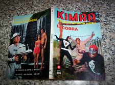 KIMBA N.8 ed.PONZONI 1970 TIPO NERI DIABOLIK SATANIK KRIMINAL-WAMPIR-PARA-ZATAN