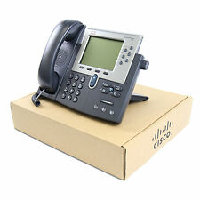 Cisco CP-7962G SCCP / SIP Unified VoIP IP Telephone PoE -Lot New-1 Year Warranty