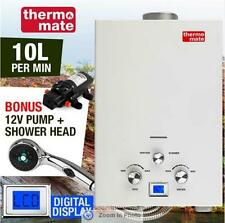 Thermomate Portable Gas Powered Water Heater with Bonus 12V Water Pump