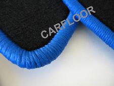 Hyundai XG 30 ab 09.99 Fußmatten Velours schwarz mit Rand blau