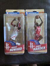 Lot Of 2 Houston Rockets Mcfarlanes James Harden, Dwight Howard