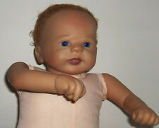 "ADG Ashton Drake  Reborn Baby Vinyl &  Cloth Body 16"" By Violet Parker (nude)"