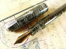 Silver Pearl Parker Vacumatic Standard DJ Fountain Pen - restored