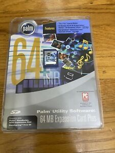 [NEW] Palm PDA Utility Software 64MB Expansion Card Plus P10845U