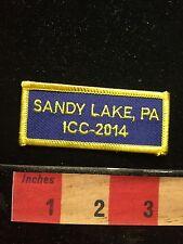 ICC-2014 SANDY LAKE Pennsylvania Patch 68WH