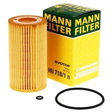 Mann Filter HU718/1n Ölfilter für OPEL Astra G Omega Vectra Zafira SAAB 9-3 9-5