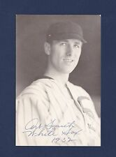 Art Smith signed Chicago White Sox baseball postcard 1906-1995
