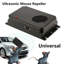 1X Durable Car Ultrasonic Mouse Rat Cat Dog Repeller Deterrent Shockproof Rodent