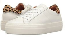 Skechers Street Alba-Wild White Leather Fashion Sneaker Shoes Women's Sz 9 NEW