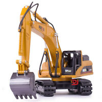 1:50 Alloy Diecast Excavator Toys Toy Engineering Vehicle Model Alloy Excavator