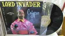 LORD INVADER CALYPSO LP AUDIO FIDELITY AFLP-1808 WITH LYRIC SHEET